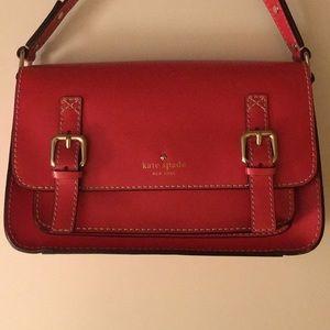 Kate Spade Cambridge Satchel Crossbody Bag Red